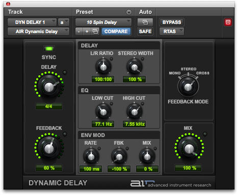 AIR DYNAMIC DELAY